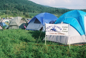 Camp Dar Camp at the Falcon Ridge Folk Fest