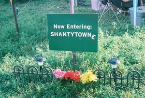 Entering Shantytowne